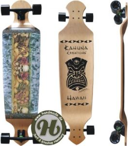 Kahuna Creations Drop Deck Island Style 43 SUP Longboard Landpaddling Board